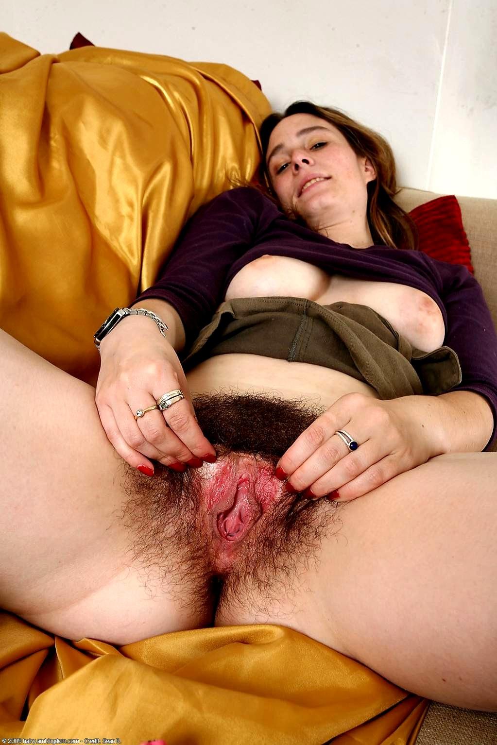 Толстая женщина с волосатой вагиной