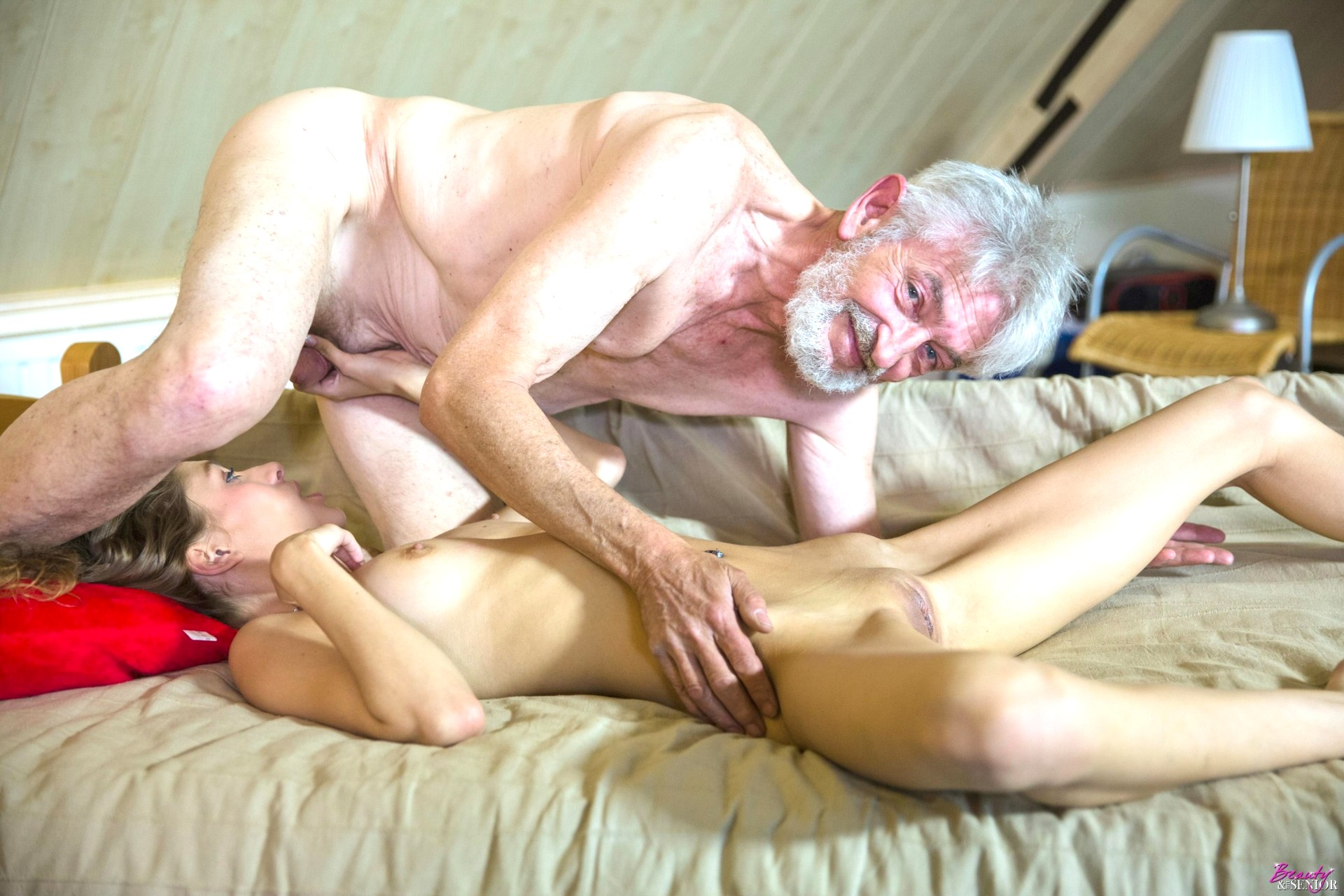 Elderly couple with unrelenting sex drive