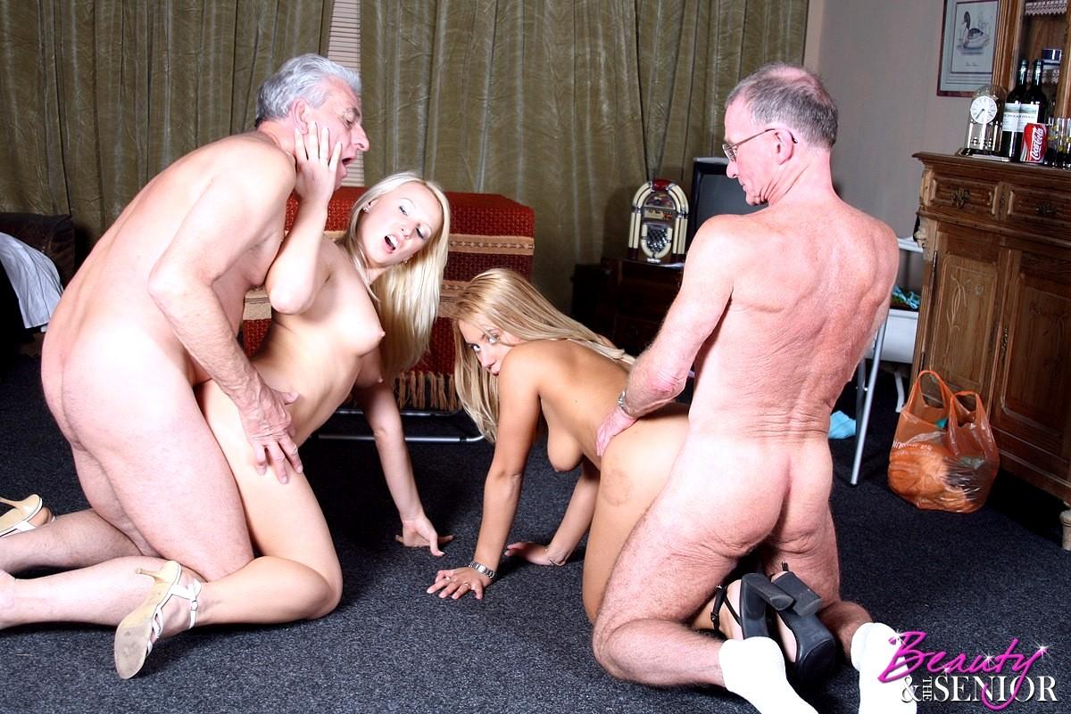 Секс картинки старики с любовницами