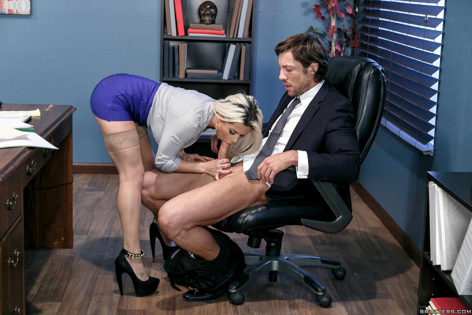 секс секретарша в брюках - 9