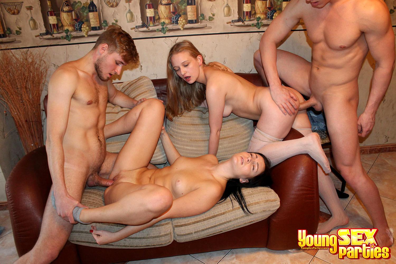 Русский Групповой Секс Молодых