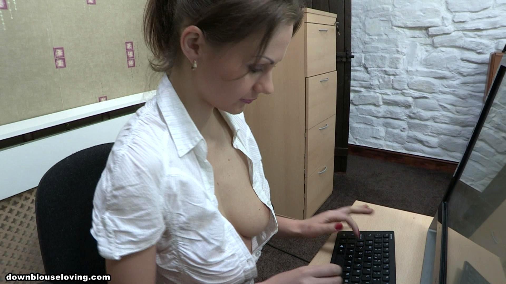 секс шоп, подглядывание в офис минет, трахну