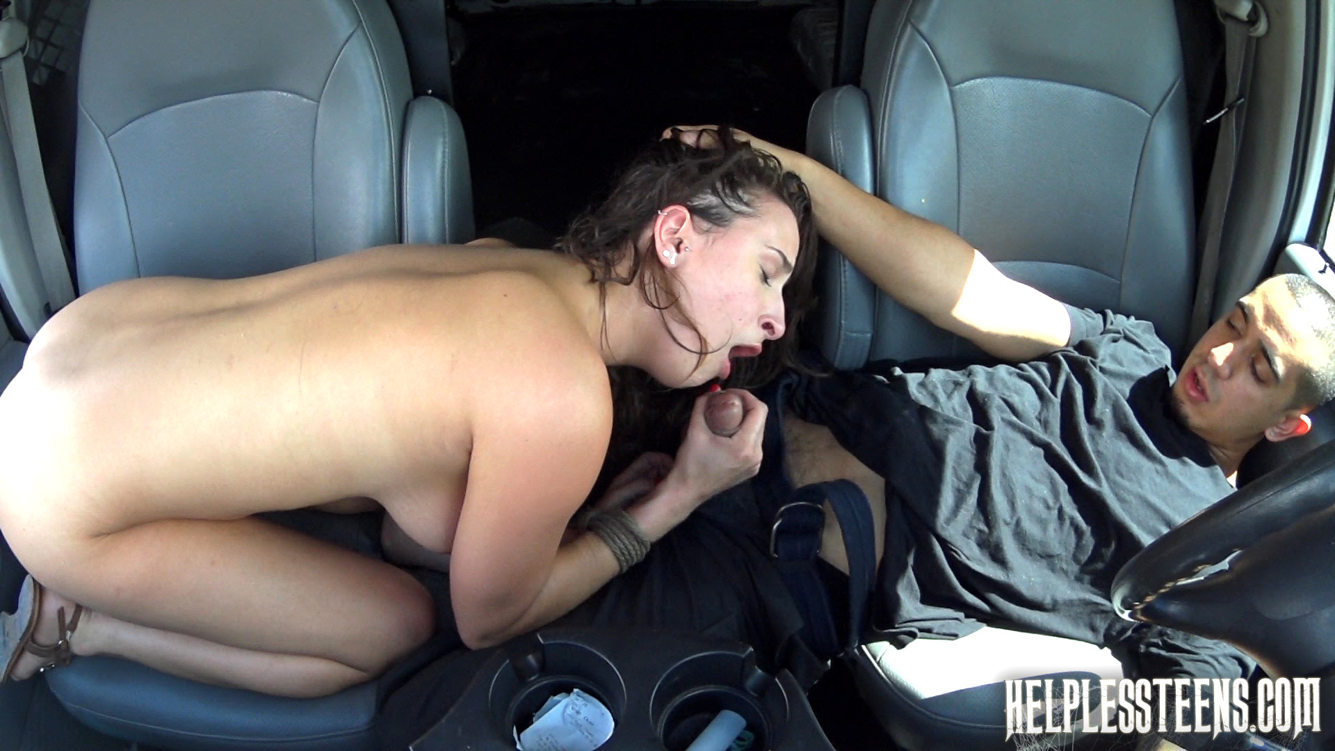 Hot Ebony Vixen Hardcore Car Sex Pov