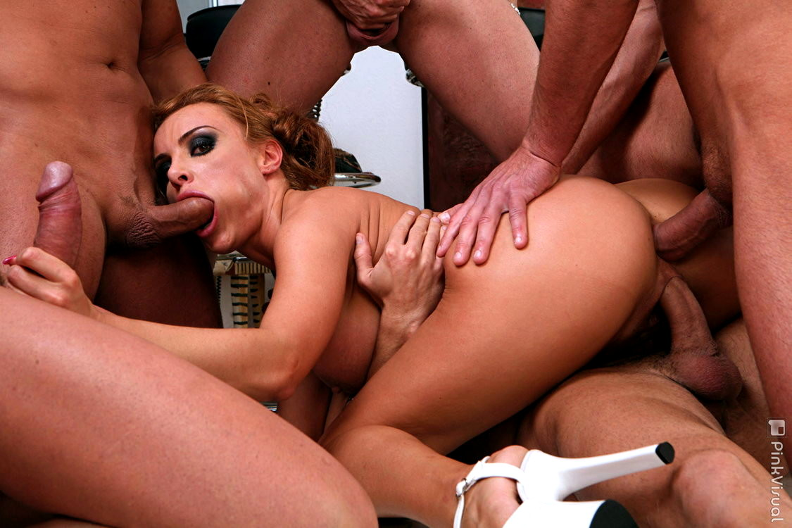 sexy-women-getting-gang-banged-biggest-dildo-made