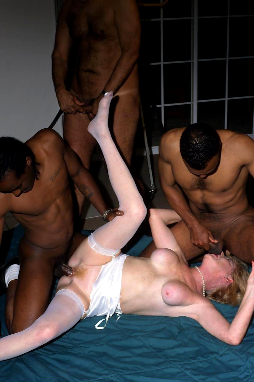 Granny gangbang abused, amateur sex video missionary